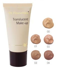 "(TRYING) Dr Hauschka Translucent Makeup (This make-up is rather expensive, but it is rated as one of the best ""all natural"" make-up products.)"
