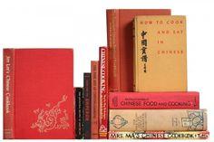 Chinese Vintage Cookbooks, S/10