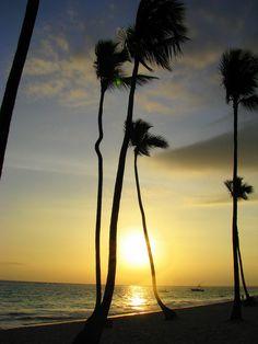 Miss the beautiful sunrise @ Punta Cana