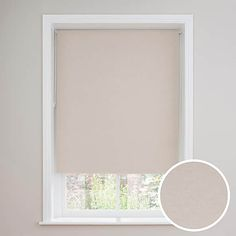 Luna Natural Blackout Roller Blind | Dunelm Small Windows, Blinds For Windows, Small Window Curtains, Blackout Roman Blinds, External Lighting, Cleaning Materials, Woodland Nursery Decor, Roller Blinds, Printable Wall Art