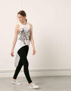 Bershka butterfly opening top - T- Shirts - Bershka United Kingdom