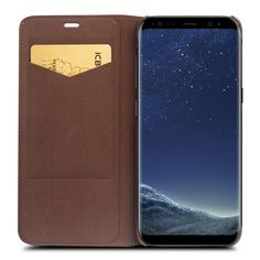 Genuine Leather Case for Samsung Galaxy S8 & S8 Plus Leather Bag Flip Wallet //Price: $30.19 & FREE Shipping //     #case.deals#iphone case#smartphone cases