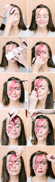DIY David Bowie Makeup Tutorial | Camille Styles