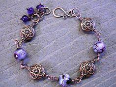 Irish Vinyard Bracelet  Celtic Jewelry by omaracelticcreations