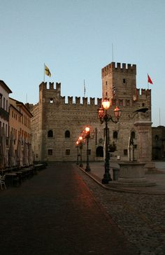 The Castle of Marostica - Vicenza, Veneto, Italy