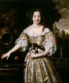 Louise Renée de Penancoët de Kérouaille (Duchess of Portsmouth) possibly painted in 1670 France before she went to live in England and became mistress of Charles II.