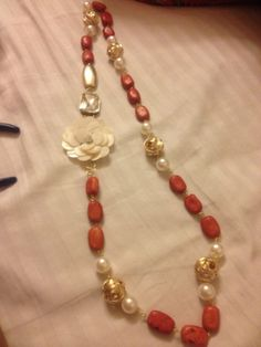 coral and pearl