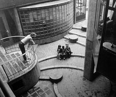 aldo van eyck playgrounds - Google Search Conceptual Model Architecture, Monumental Architecture, Interior Architecture, Interior Design, Aldo Van Eyck, Plan Maestro, Life Space, Landscape And Urbanism, Curved Walls