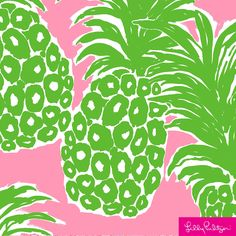 Items similar to POUT PINK FLAMENCO Lilly Pulitzer fabric square cotton Rare monogram Greek letters hair bow pink pineapple sorority preppy bow on Etsy Lilly Pulitzer Patterns, Lilly Pulitzer Prints, Lily Pulitzer, Pineapple Art, Fabric Squares, Fabric Patterns, Spring, Pink And Green, Illustration