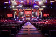 Auditorium during the last Goya Awards #Marriott #PrincipeFelipeCongressCenter