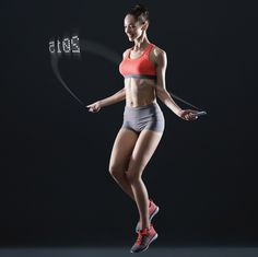 Smart Rope is an LED-embedded jump rope that displays your fitness data in mid-air as you work out. Smart Rope syncs with our mobile fitness platform, Smart Gym, to track your jump count, calories burned, and workout times. Smart Gym will also recommend i You Fitness, Fitness Tips, Health Fitness, King Fitness, Fitness Gadgets, Fitness Gear, Workout Fitness, How To Make Rope, Skipping Rope