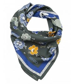 Kenzo Floral Print Scarf ($160) - This will look so chic tied around your neck.