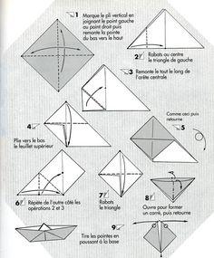 Origami Bateau Facile #1