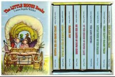 Probably the best loved books from my childhood.  I read and re-read this series at least 5 times....