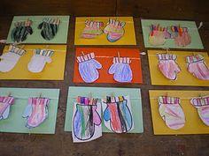 Wishy-Washy Art, Christmas Cards & More Kindergarten Christmas Art Winter Crafts For Kids, Winter Fun, Winter Theme, Art For Kids, Preschool Winter, Winter Ideas, Preschool Arts And Crafts, Preschool Activities, Book Activities