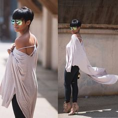 One last chance to win this amazing cape available at ~ Re… - Modern Cute Fashion, Look Fashion, Womens Fashion, Chic Outfits, Summer Outfits, Spring Summer Fashion, Autumn Fashion, Culottes, Love Her Style