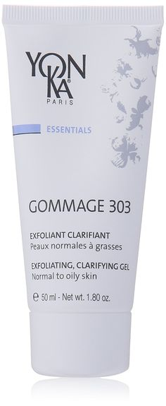 Yonka Gommage 303 Exfoliating Clarifying Gel Normal To Oily Skin, 1.8 Ounce *** You can find more details by visiting the image link.