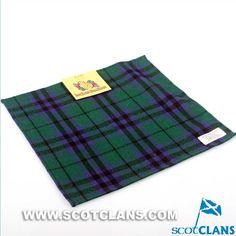 Keith Modern Tartan Handkerchief