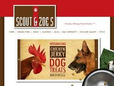 Check out these natural antler chews from the new members of our directory, Scout & Zoe