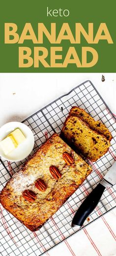 A little variety infuses my diet with excitement, and this Keto Banana Bread is a fun way to mix things up. It is light and moist and makes the perfect breakfast or snack. This recipe is the best way I know to enjoy the classic flavors I love while sticking to a low carb, gluten-free, and keto diet. Low Carb Breakfast, Perfect Breakfast, Breakfast Recipes, Low Carb Desserts, Low Carb Recipes, Bread Recipes, Keto Banana Bread, Keto Bread, Best Low Carb Snacks