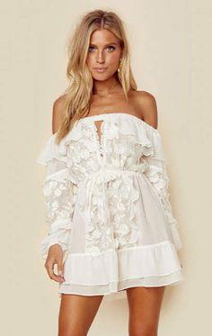 For love and lemons carolina off shoulder dress - $149.50