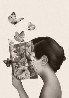 illustration announced winners awards palena world marco 2017 World Illustration Awards 2017 winners announced marco palenaWorld Illustration Awards 2017 winners announced marco palena Reading Art, Butterfly Art, Butterflies, I Love Books, Book Photography, Surreal Art, Belle Photo, Collage Art, Collages