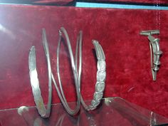 Dacian Silver Bracelet at the National Museum of Transylvanian History 2007