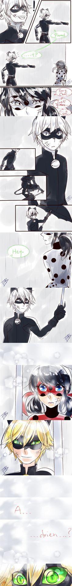 KYA!!! Juro que escuche in the rain en mi cabeza mientras veia esto ^0^
