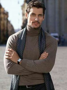 ♂Masculine and elegance man's fashion winter wear