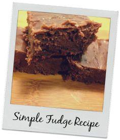 Easy Fudge Recipe
