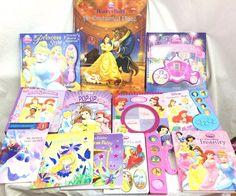 Lot of 12 Children Books Disney Princess Pop Up Frozen Beauty and the Beast #childrensbooks