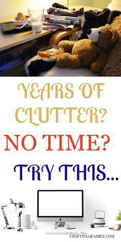 Clearing out the Clutter #organizingclutter