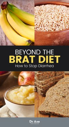 does the brat diet work for teething diarrhea