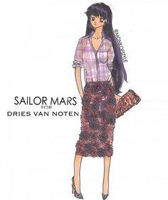 Sailor Mars for Dries Van Noten by Jerome LaMaar