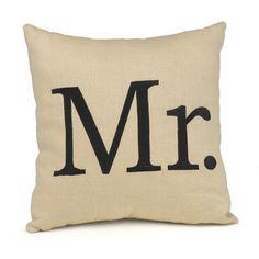 Hortense B. Hewitt Mr. Throw Pillow | Overstock.com Shopping - Great Deals on Hortense B. Hewitt Tapestries