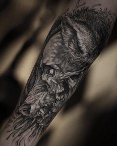 Breathtaking tattoo by King of dot work, Daniel Baczewski. #inked #inkedmag…
