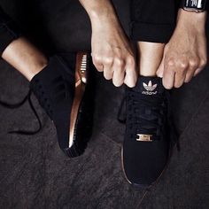 Adidas ZX Flux women's copper Brand new in box. Size 6.5 & 8.5 available. Willing to sell cheaper on Merc! No trades Adidas Shoes Athletic Shoes