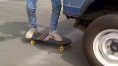 InBack to the Future, Marty (Michael J. Fox) wears a pair of low top Nike Bruins