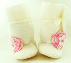 Marshmallow Fleece Baby Boots for Girls. Fleece and Faux Shapuskin Sheepskin Baby Booties Christening Baby Booties Baptism Baby Ugg Shoes Toddler Boots, Baby Boots, Baby Girl Shoes, My Baby Girl, Baby First Birthday Themes, Baby Girl Shower Themes, Classic Ugg Boots, Ugg Classic Mini, Winter Wedding Shoes