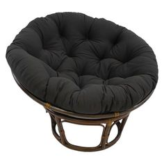 online shopping for Blazing Needles Solid Twill Papasan Chair Cushion, 48 x 6 x 48 , Black from top store. See new offer for Blazing Needles Solid Twill Papasan Chair Cushion, 48 x 6 x 48 , Black Double Papasan Chair, Papasan Cushion, Swivel Rocker Chair, Wing Chair, Indoor Chair Cushions, Couch Cushions, Toss Pillows, Bed Pillows, Overstuffed Chairs