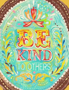 Be Kind. $18.00, via Etsy.