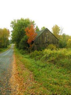 Barn By The Black Top   ..rh