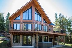 Did you know, Timber Block homes are built weeks - if not months - faster than most conventionally built homes? The result? You get to move in sooner! (Not to mention, less construction time means extra savings!) www.timberblock.com