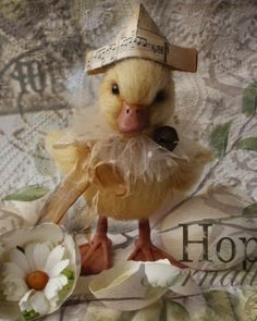 Sharon's Shabby Creations Cute Little Animals, Cute Funny Animals, Funny Animal Pictures, Cute Pictures, Pet Ducks, Baby Ducks, Cute Baby Bunnies, Cute Babies, Bunny And Bear
