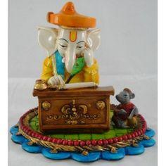 Medium Munim Ganesh Table Piece