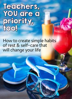 Teachers, it's time to make yourself a priority! Sign up for this free training by Angela Watson to learn how to create simple habits of rest and self-care that will change everything!