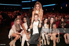 Recording artists Ally Brooke, Normani Hamilton, Dinah Jane Hansen, Franke Grande, Camila Cabello, and Lauren Jauregui of Fifth Harmony attend the 2016 American Music Awards at Microsoft Theater on November 20, 2016 in Los Angeles, California.