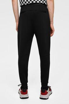 e72cb1b6 Image 3 of PIQUÉ BIKER PANTS from Zara Biker Pants, Joggers, Sweatpants,  Zara