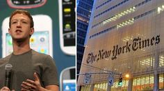 Facebook, New York Times deal could change news business:  Reported deal for Facebook to host New York Times, BuzzFeed content represents media power shift  (CBC News 27 March 2015)