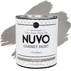 Refresh any kitchen on a budget and upgrade your cabinets with Nuvo™ Cabinet Paint. Nuvo™ is a DIY one-day makeover kit that does not require any cabinet removal or priming. Get professional-looking results with just a roller and brush. Rv Cabinets, Plywood Cabinets, Blue Cabinets, Built In Cabinets, Custom Cabinets, Kitchen Cabinet Remodel, New Kitchen Cabinets, Painting Kitchen Cabinets, Kitchen Paint